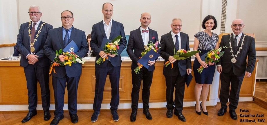 Slovak Academy of Sciences, SAS, Awards, top scientists, research, science
